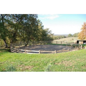 Construire un rond de longe pour chevaux
