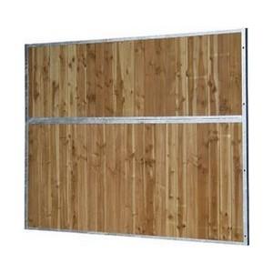 Séparation pleine bois 4m